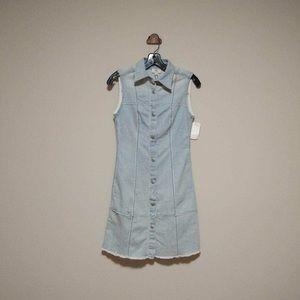 AG denim dress sleeveless